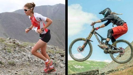 Trail running versus Mountain biking