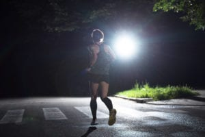 Running at night
