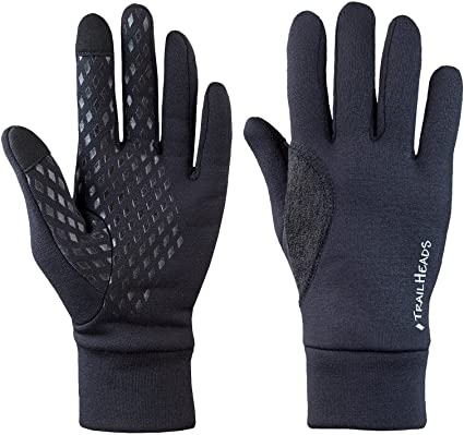 Trailheads Power Stretch Lightweight Running Gloves
