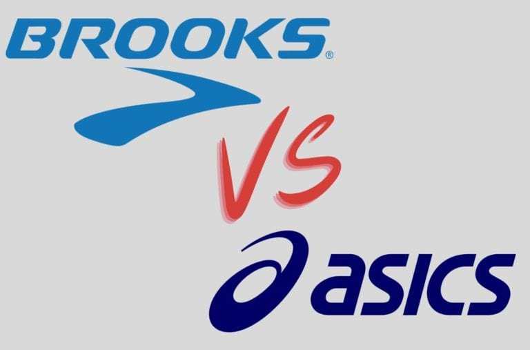 Brooks vs Asics
