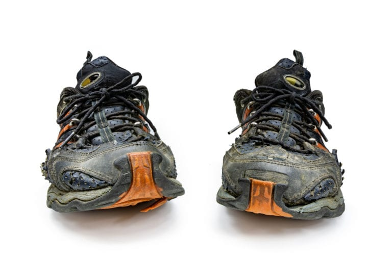 When to replace Trail running shoes