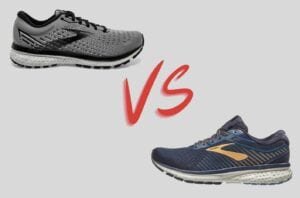Brooks Ghost 12 vs 13